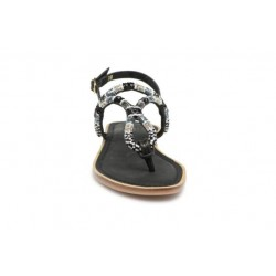 Bullboxer KATHRYN (Black) - Sandals - Womens Buckles Sandals 317214