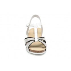 Rondinaud Valira (White) - Sandals - Womens Buckles Sandals 323487
