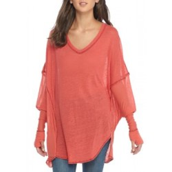 Free People City Slicker Tunic Pink Women Tunics bCUyq385