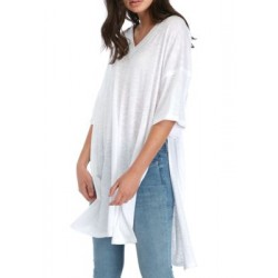 Free People City Slicker Tunic White Women Tunics 7gxsTu5j