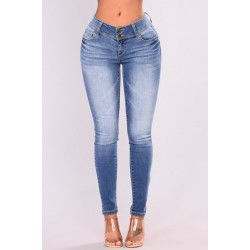 Every Day Skinny Jeans - Medium Blue Wash  Women Jeans Cheap bc70hA6R